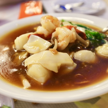 Hor Fun with Seafood (3.75) - my kind of thing