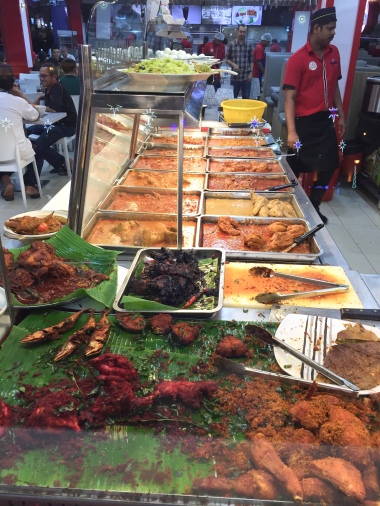 Okay, so a lot of Malaysian fare tends to consist of chicken or lamb in orangish gravies.