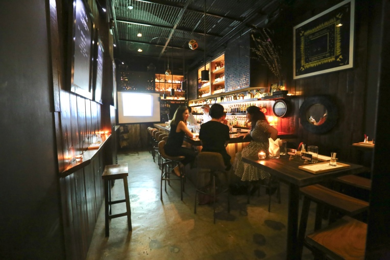 Located in Serendra Piazza, Lit is a bar specializing in Japanese whiskies.