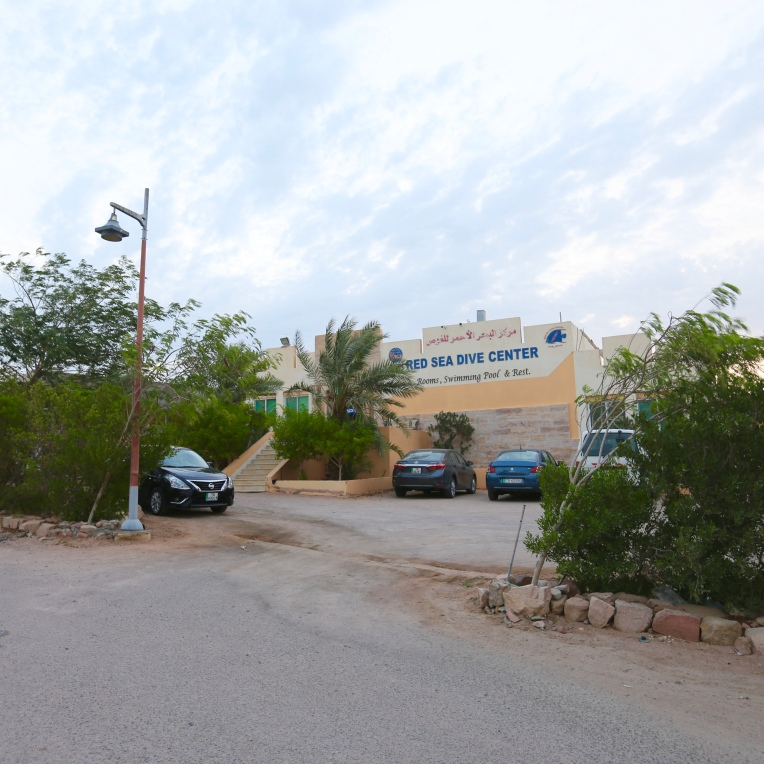 Because Arab Divers doesn't serve dinner, I went across the way to Red Sea Dive Center.