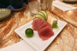 Tuna Sashimi (2.0): passable.