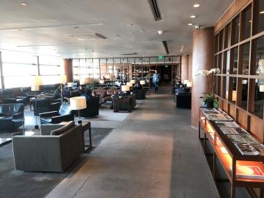 New business lounge in Ninoy Aquino International Airport Terminal 3.