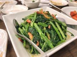 Kangkong in Chili Bean Curd Sauce (1.5)
