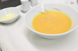 Coconut Carrot Cream Soup (2.5)