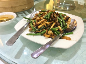 Stir Fry French Beans with Mixed Mushrooms in XO Sauce (4.0))